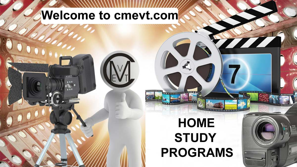 Online home study programs homepage image of cmevt.com