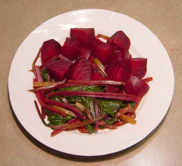 Complete home study program in Greek cuisine, recipe for Beets (Μπαντζάρια)  from homecook at cmevt.com