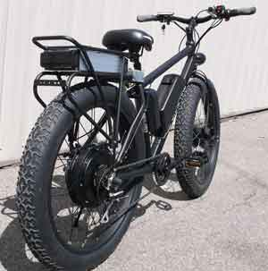 fat-tire ebike with double motor from cmevt.com