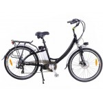 Factory-built electric bicycle eRider26 photo
